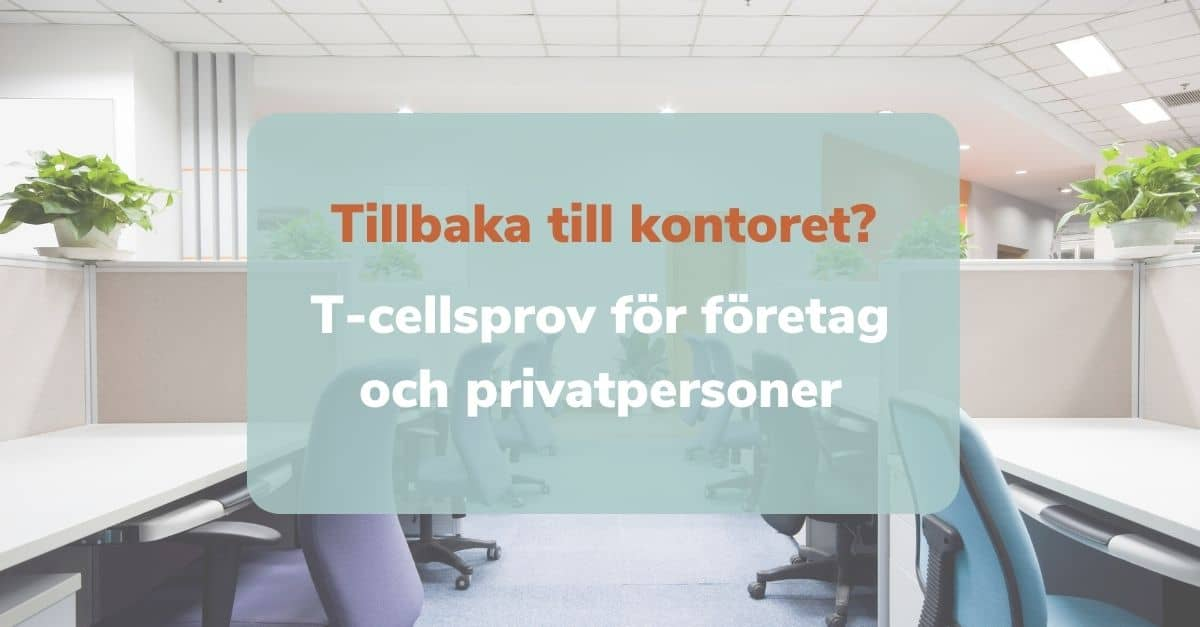 T-cellsprov företag och privatpersoner